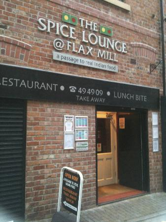the spice lounge indian wigan front